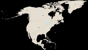 North America Continent Map by Free Detailed Maps Of North America Countries