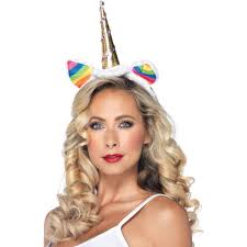Unicorn Halloween Makeup by Rainbow Unicorn Headband Halloween Costume Walmart Com