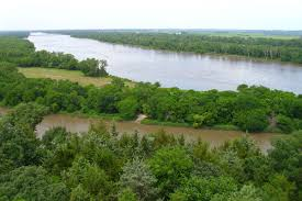 Missouri River On Map Of Usa by Platte River Wikipedia