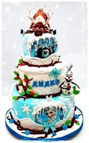how to decorate frozen birthday cake for kids disney frozen cake
