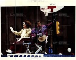 1991 press photo thanksgiving day parade historic images