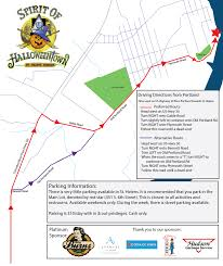 the spirit of halloween town traffic plan for spirit of halloweentown event out u0026 about