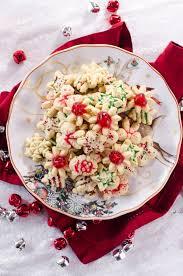 perfect christmas almond spritz cookies u2022 go go go gourmet
