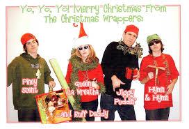 the weirdest family christmas cards