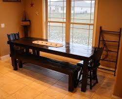 Primitive Dining Room by 8 Ft Beautiful Primitive Elegant Unique Look Long Black