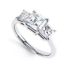 princess cut 3 engagement rings princess cut engagement ring