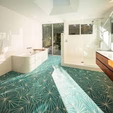 House Bathroom Modern Open Plan Courtyard House With U Shaped Roof Line In La