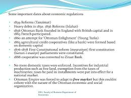 Economy Of Ottoman Empire The Structure Of Turkish Economy Ppt