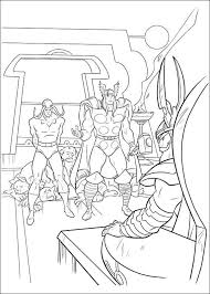 kids fun 34 coloring pages thor