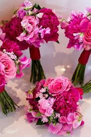 pink bouquet the 25 best hot pink weddings ideas on hot pink