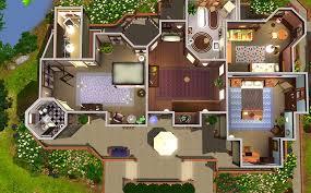 design home house plans best ideas 13 cool blueprints sims 3 house