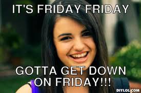 Rebecca Black Friday Meme - rebecca black memes 28 images pi day friday rebecca black