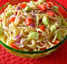 Cold Pasta Salad Dressing Linguine Salad Recipe Linguini Salad Linguine And Salad