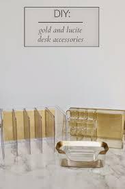 Best Desk Accessories Kate Spade Desk Accessories Gold Home Furniture Decoration