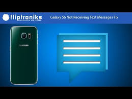 android not receiving texts galaxy s6 not receiving text messages fix fliptroniks