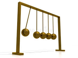 Swinging Desk Balls Swinging Ball Toy Stock Images Image 11908974