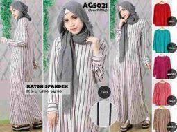 Grosir Baju Muslim supplier baju wanita murah tangan pertama ag502