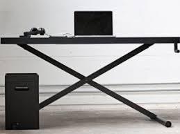 bureau ajustable bureau minimaliste xtable à hauteur ajustable par arkko