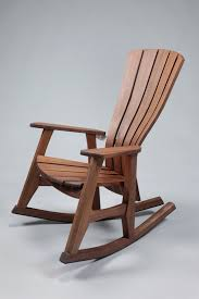 Rocking Chair With Ottoman Superb Modern Wooden Rocking Chair With Additional Home Remodel