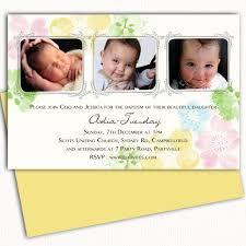 Invitation Cards For Dedication Of A Baby Photo Christening Invitation Baptism