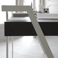 Schreibtisch Dunkelbraun Zac Schreibtisch Mit Zwei Schubladen Arredaclick