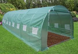 serre tunelle de jardin serre jardin tunnel en strucuture métal 3x8m serre tunnel serre jardin