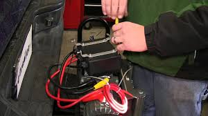 installation of a superwinch electric winch wiring kit on a 2004