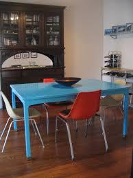 pre u0026 post the painted dining table u2014 unpatterned