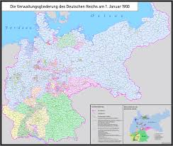 King Of Prussia Map Detailed Administrative Division Of The German Empire In 1900 Os