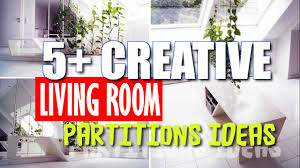 creative living room partition decor ideas youtube