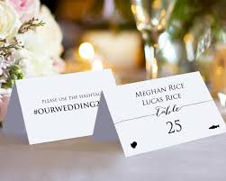 place cards wedding sided place cards with meal options wedding templates and