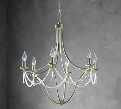 viola crystal chandelier pottery barn