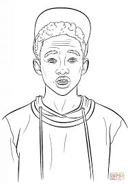 jaden smith coloring page free printable coloring pages