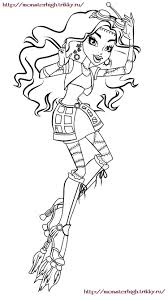 monster high colouring pages pinterest monster high
