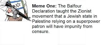 Memes Explained - balfour explained in eight memes rima najjar medium