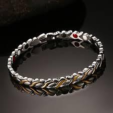 magnetic bracelet with germanium images Vnox 7mm adjustable length health magnetic bracelet for women jpg