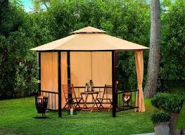 Fire Pit Gazebo by 25 Metal Gazebo Designs And Great Outdoor Furniture Placement Ideas