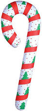 Blow Up Christmas Decorations Amazon by Amazon Com New Festive Inflatable Candy Cane Christmas Decoration