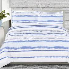 Blue Striped Comforter Set Rugby Stripe Comforter Set Wayfair