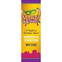 mardi gras banner mardi gras personalized banners custom banners for mardi gras