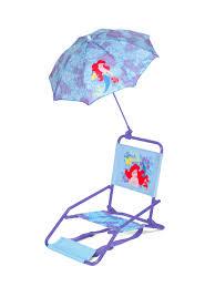 Beach Umbrella And Chair Disney Ariel Beach Chair With Umbrella Ginny U0027s 1st Birthday