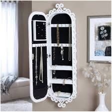 Qvc Home Decor Armoire Hanging Jewelry Box Qvc Bellissimo Wall Mounted Jewelry