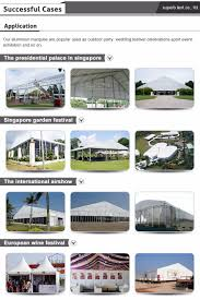 big outdoor insulation winter holiday metal hall catering wedding
