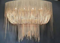 Leather Chandelier A Swarm Of 6