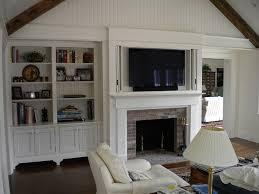 Bookshelf Around Fireplace Built In Window Seat U0026 Bookcase Around Fireplace In Family Room