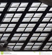 Skylight Design Texture Of Interior Roofing Skylight Modern Design Stock Photo