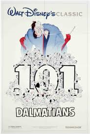 disney 101 dalmatians poster cruella 101