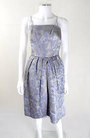 1950s lilac and goldtone prom dress 50s fashion 50s dresses