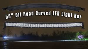 50 Curved Led Light Bar by 50
