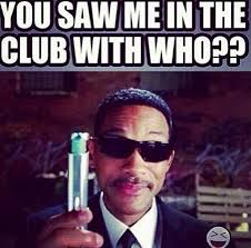 Meme Men - jr smith responds to rihanna club claims with men in black meme